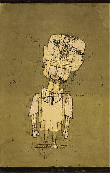 Ghost of a Genius, 1922 - Paul Klee