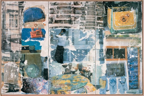 On Hold (Arcadian Retreat), 1996 - Robert Rauschenberg