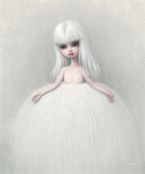 Girl in a Fur Skirt, 2008 - Mark Ryden