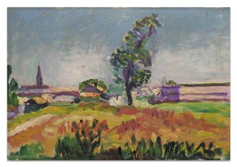 Paysage Des Environs De Toulouse, Le Pont Des Demoiselles, 1898 - Henri Matisse