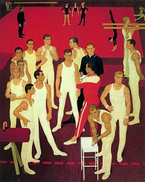 USSR gymnasts - Dmitri Zhilinsky