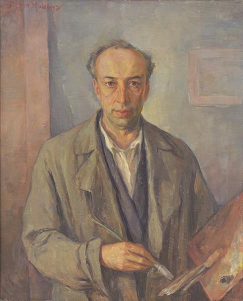 Self-Portrait, 1937 - Georgi Mashev