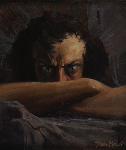 Outcast (Self-Portrait), 1921 - Georgi Mashev