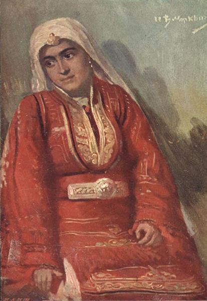 Bulgarian woman from Macedonia - Ivan Mrkviсka