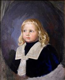 Portrait of a Child - Ivan Mrkvička