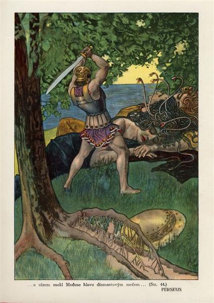 Illustration for Perseus - Artuš Scheiner