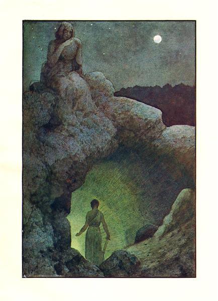 Illustration for Vyšehrad - Artuš Scheiner