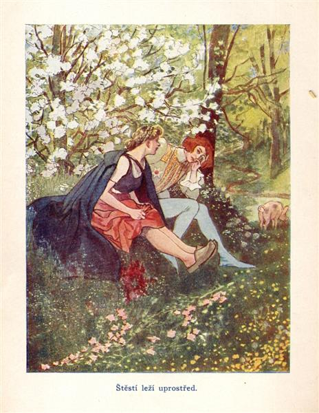 Illustration for Fairy Tales For Adults - Artuš Scheiner