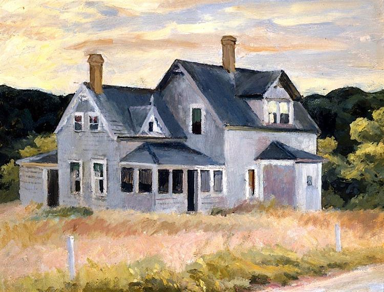 House by a Road, 1940 - Edward Hopper