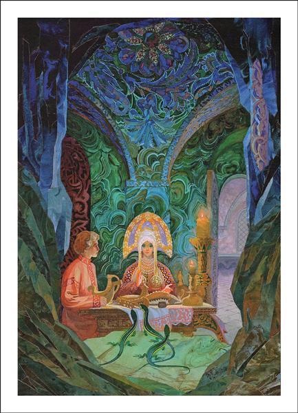 Illustration for The Ural Tales - Vyacheslav Nazaruk