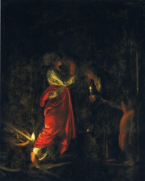 Ceres in the House of Hecuba, c.1605 - Адам Эльсхаймер