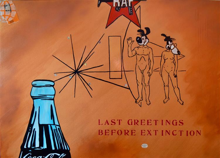 last greetings before extinction, c.2017 - Malte Sonnenfeld