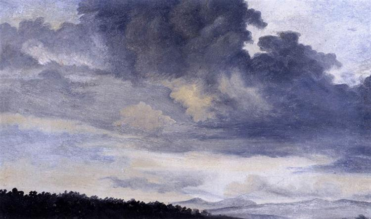 Study of Clouds, 1780 - Pierre-Henri de Valenciennes