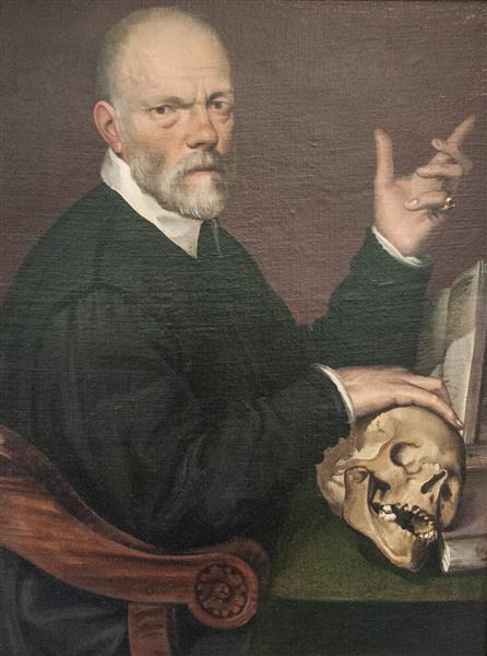 Portrait of the Physician Carlo Fontana, c.1570 - c.1575 - Bartolomeo Passerotti
