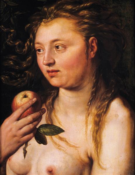 Eve, c.1615 - Hendrick Goltzius