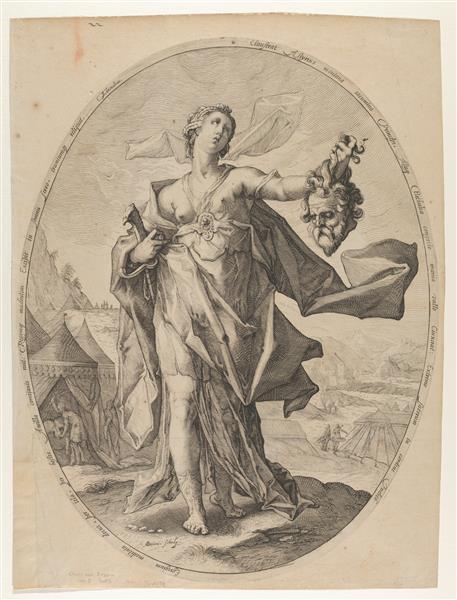 Judith, 1597 - Hendrick Goltzius