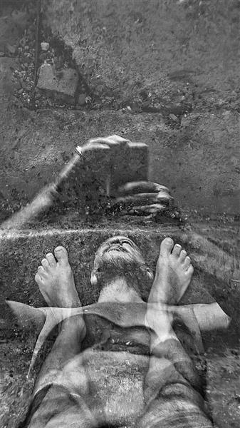 Selfie-self-portrait, 2019 - Alfred Freddy Krupa