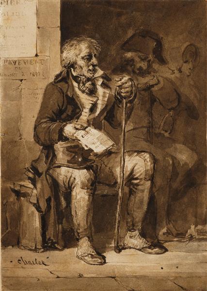 The Half-Sale - Nicolas Toussaint Charlet