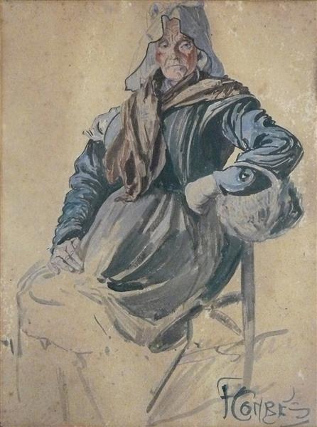 Paysanne Sablaise - Fernand Combes
