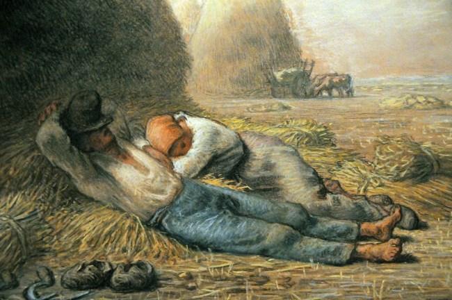 Noonday Rest, 1866 - Jean-Francois Millet