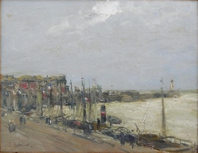 Vue Portuaire - Pierre-Jacques Pelletier
