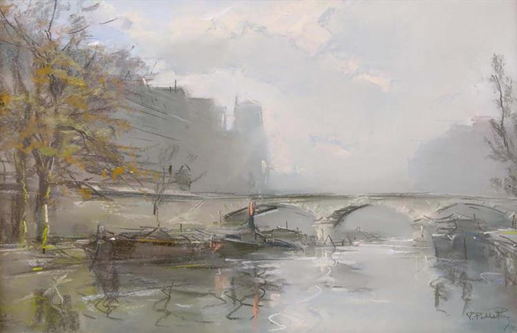 Le Pont Marie à Paris - Pierre-Jacques Pelletier