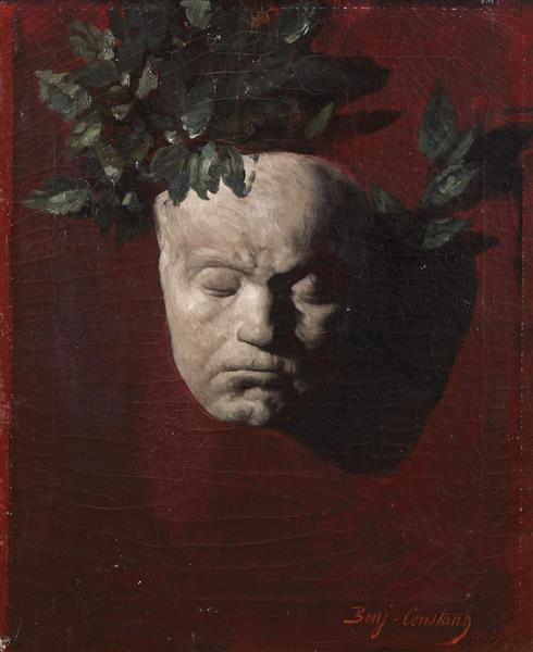 Masque De Beethoven, 1887 - Жан-Жозеф Бенжамен-Констан