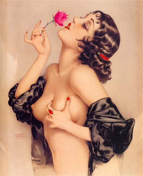 Memories of Olive, 1920 - Alberto Vargas