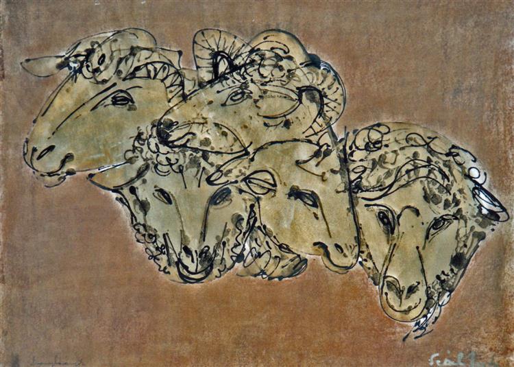 Golden Lambs, 1977 - Piroska Szanto