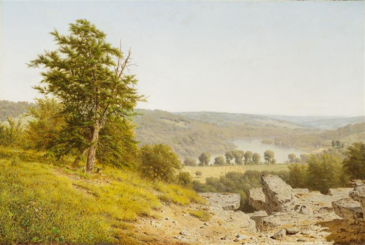Landscape, 1865 - Alexander Helwig Wyant