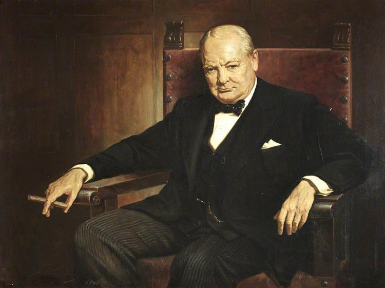 Sir Winston Churchill, 1942 - Arthur Pan