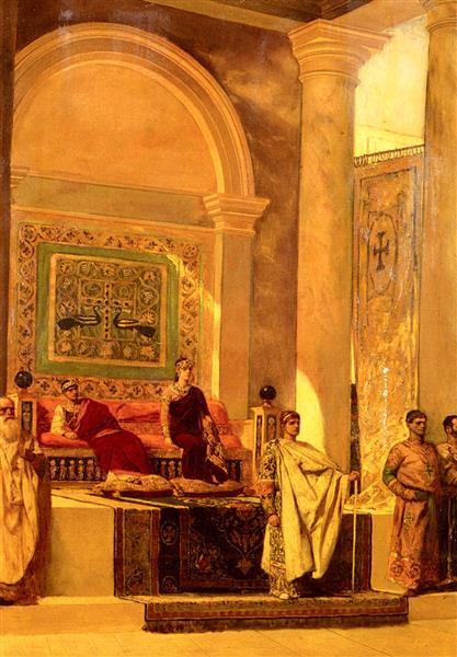 The Throne Room in Byzantium - Жан-Жозеф Бенжамен-Констан