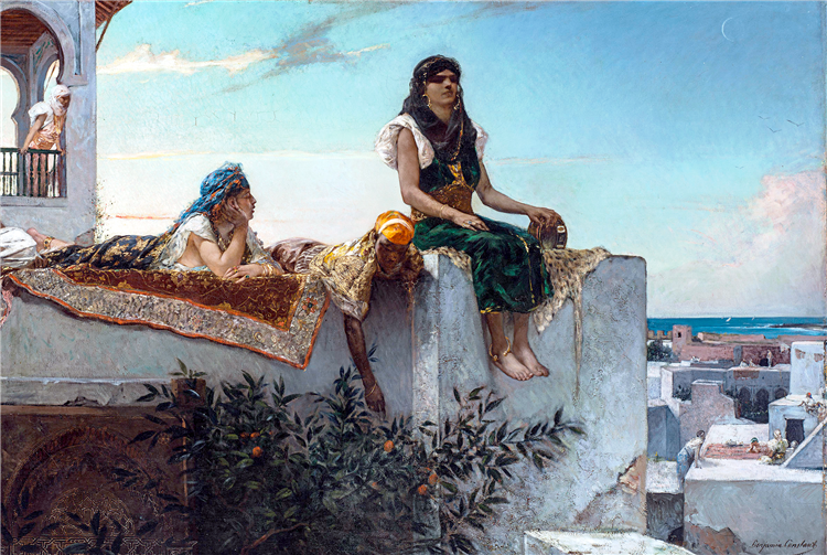 A Terrace in Morocco - Benjamin Constant