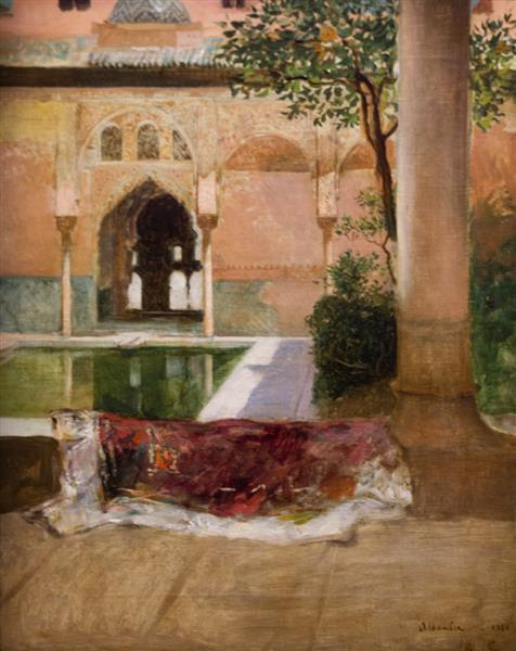 Cour De L'alhambra - Benjamin Constant