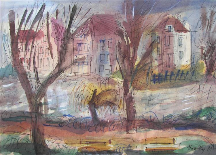 Riverside Villas, 1980 - Maria Bozoky