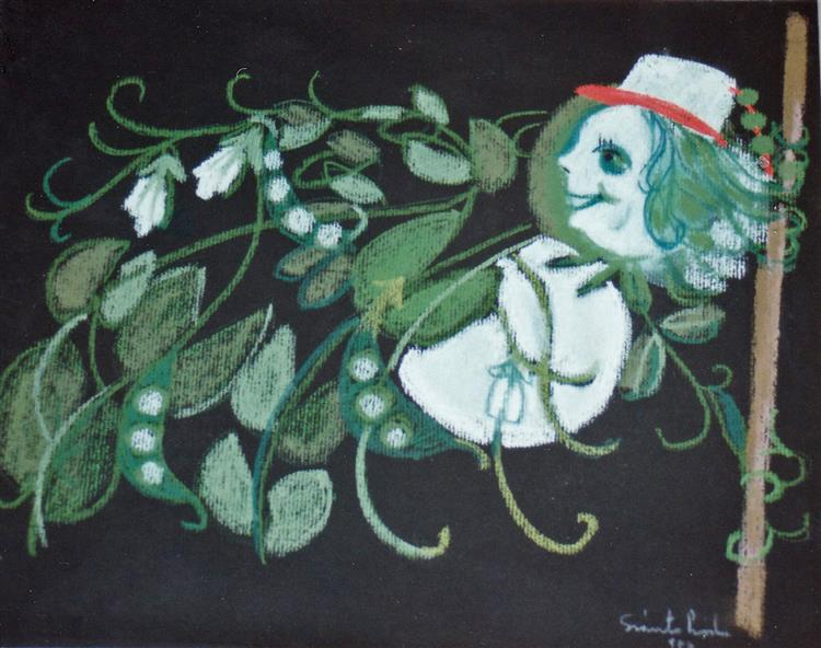 Peas, 1986 - Piroska Szanto