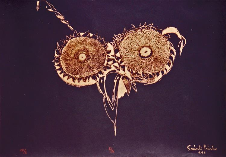 Owl Eyes, 1991 - Piroska Szanto