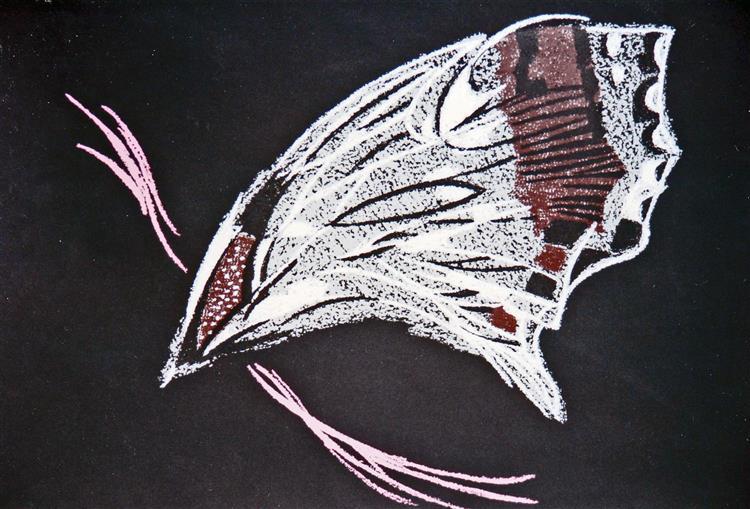Butterfly, 1980 - Piroska Szanto