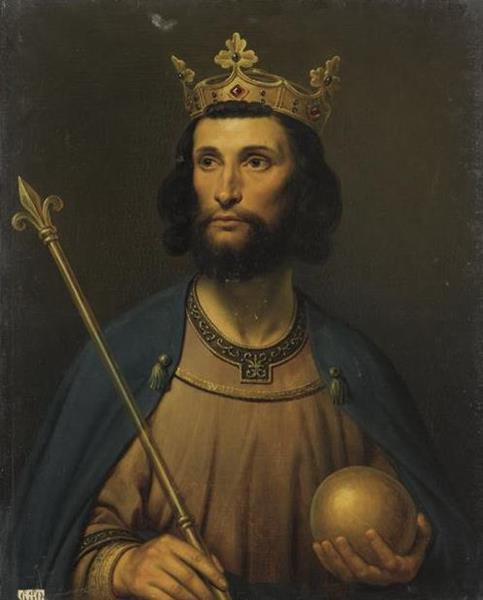 Odo, King of France - Charles de Steuben