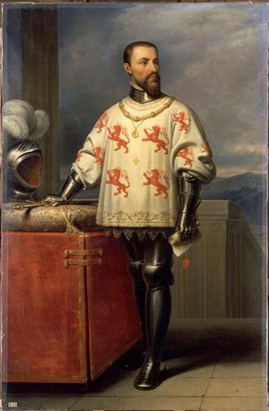 Louis De Luxembourg, Constable of France in 1465 - Charles de Steuben