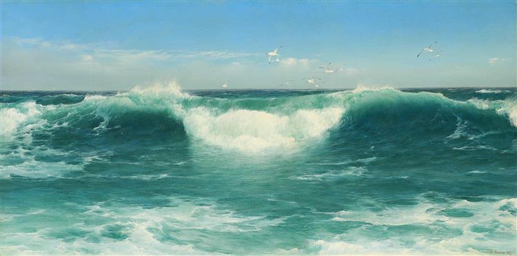 A Cornish Roller - David James