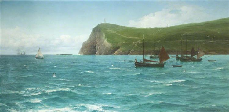 Bradda Head, 1893 - David James