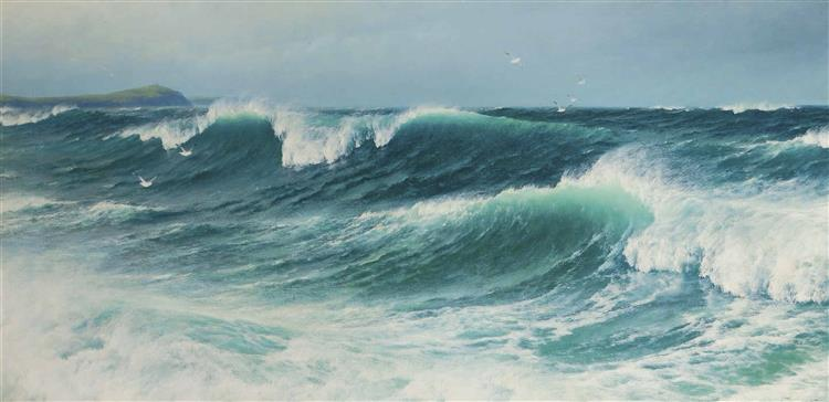 The Inrushing Tide, 1895 - David James