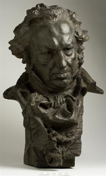 Cabeza de Goya - Mariano Benlliure