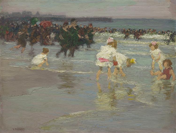 Beach Scene - Edward Henry Potthast
