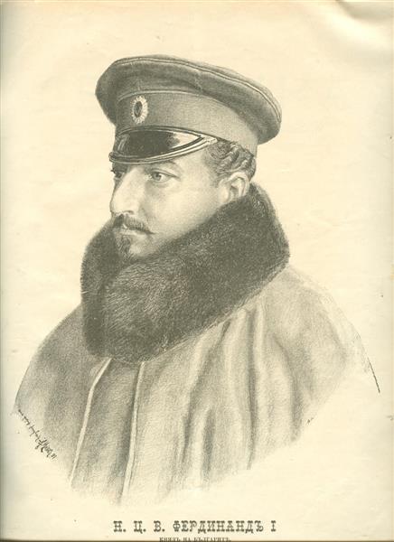 Portrait of Knyaz Ferdinand of Bulgaria, 1891 - Anton Mitov