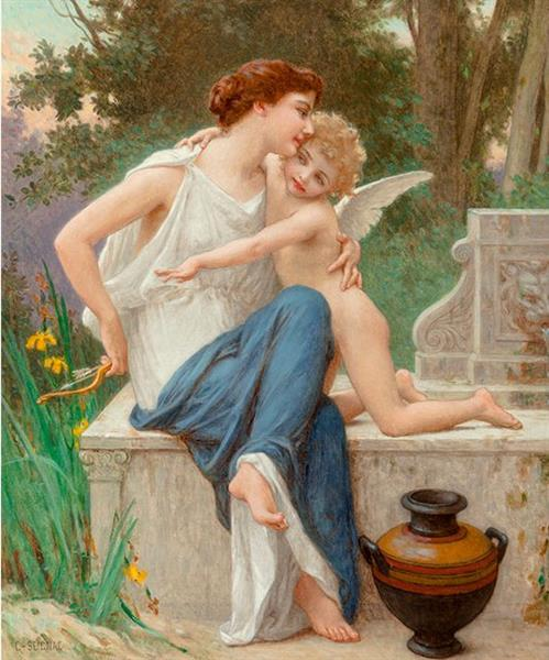 Disarming Cupid - Guillaume Seignac
