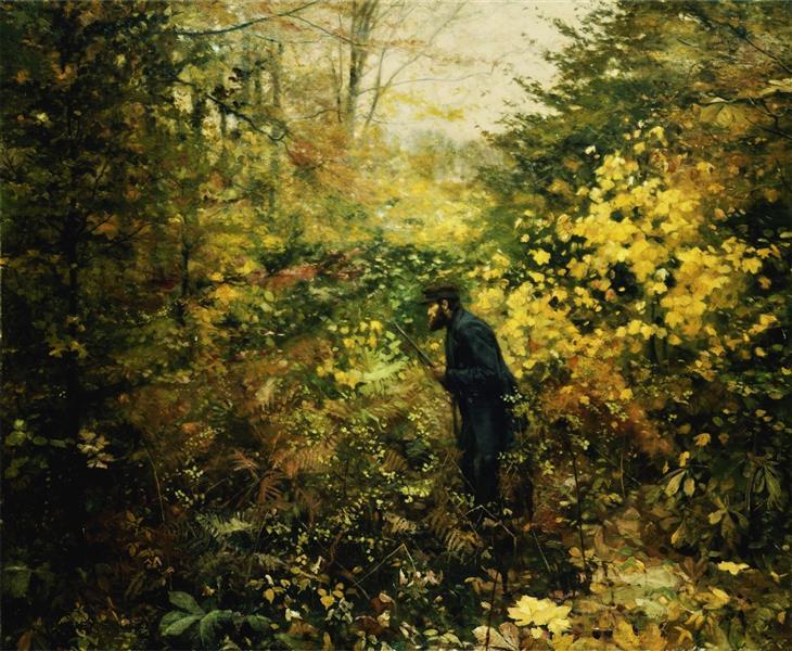 Hunter, 1887 - Hans Andersen Brendekilde