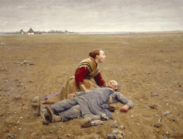 Worn Out, 1889 - Hans Andersen Brendekilde