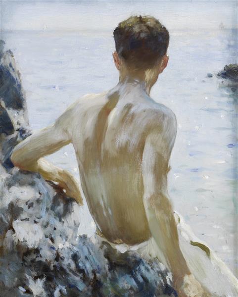 Beach Study - Henry Scott Tuke